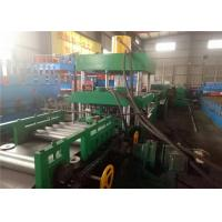 Automatic Highway Guardrail Roll Forming Machine ,  Guardrail Forming Machine 2/3 Waves