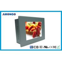 6.5 Industrial Touch Panel PC 640x480 Pixels , Silver / Black LCD Monitor