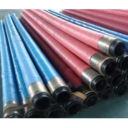China High Pressure Hydraulic Concrete Pump Hose double braided 85 Bar Working pressure on sale