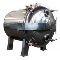 Round Shape Static Vacuum Dryer Oven , Industrial Tray Dryer For Foodstuff