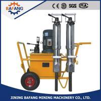 High quality efficient gsoline/petrol hydraulic rock splitter, electric hydraulic stone spilitter