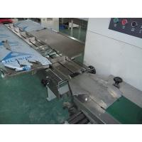 Rear Pull Film Horizontal Packing Machine , Horizontal Flow Wrap Packing Machine