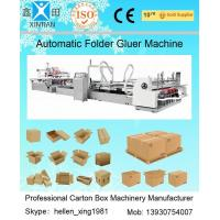 Automatic Folder Gluer Carton Packaging Machinery 14.5KW 380V 50HZ , 3 Phase