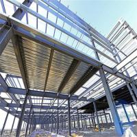 Fire Proof Light Steel Frame Prefabricated Steel Structure Building For Car Parking Lot