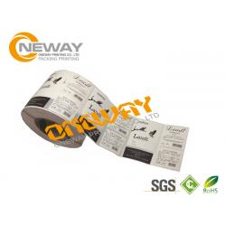 China OEM Wine Bottle Neck Label , Printing Label Tags with Hot melt on sale