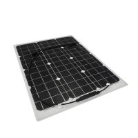 Flexible ETFE Solar Panel Golf Cart Roof Mono 30W Crystalline Silicon Cell Based
