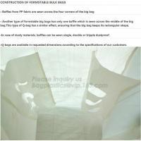 Flat bottom open mouth virgin PP woven bags 1000kgs 1 ton jumbo bags big fibc bulk bag for packing,breathable pp woven b