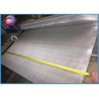 Plain Weave Stainless Steel Woven Wire Mesh / 25 Micron Stainless Steel Screen