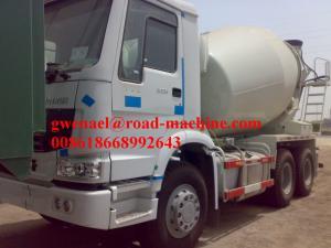 Sinotruck 6 x 4 Euro II 336 HP Engine Cement Mixer 12m3 Truck Concrete Mixing Equipment