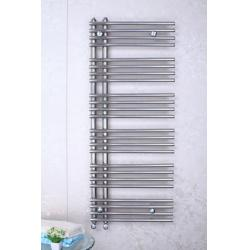 China Bathroom Heated Towel Radiator With Towel Rail Stainless Steel Polished on sale