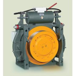 China WWTY Gearless Traction Machine / Elevator Traction Motor on sale