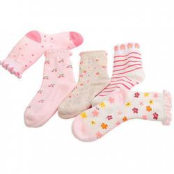 China 100% breathable, eco-friendly custom design cute cotton Baby socks on sale