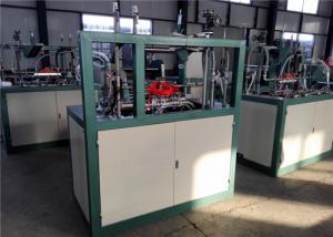 Disposable Tea Cup Making Machine , Multi Function Plastic Glass Making Machine