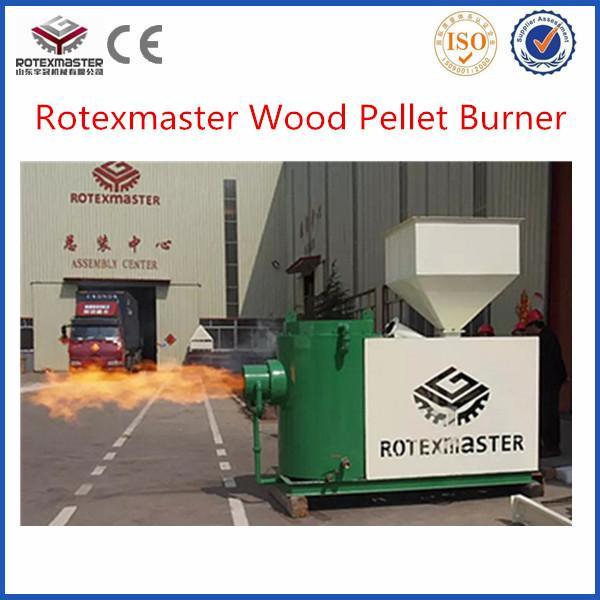 Wood pellet fuel burner chips for