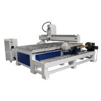 Removable  4 Axis 1325 Woodworking  CNC Engraving Machine with Dia 300 Rotary Axis Holder