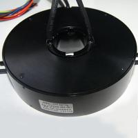 Pan Cake Slip Ring  With Few Contacts 8 Circuits Small Current  2a Per Wire  Slow Speed For Tripod Turnstiles