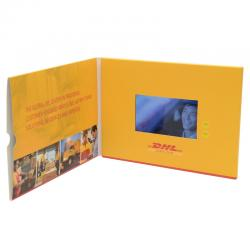 China 5 Inch TFT Video Greeting Card , 4G Flip Book Video For Advertising on sale