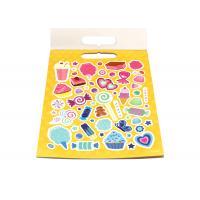 Self Adhesive Paper Sticker Book For Kids OEM Offset Printing Pattern Logo