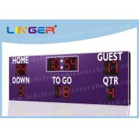 Wireless Buttons Controller Box LED Football Scoreboard for American Football Club