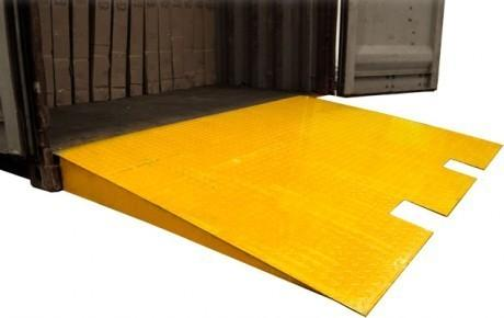 Portable welding steel shipping container ramp container loading ramps for warehouse - Shipping container end welding ...