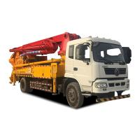 Concrete Pumping & mixing truck 30m max placing reach pump truck with mixer machine