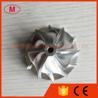 TD04HL 13T 40.61/56.02mm 49377-04200HF 6+6 blades high blade turbo milling/aluminum 2618 billet compressor wheel