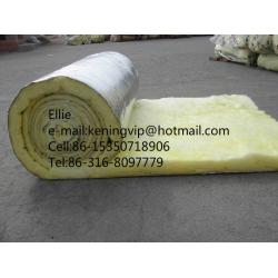 China Heat resistance glass wool blanket roofing thermal insulation materials on sale