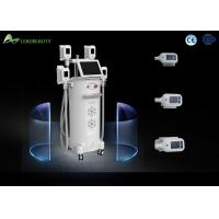 2017 Medical CE approval 4 handles vacuum cool body sculpting double chin removal cryolipolysis machine