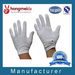 China White cotton parade gloves working gloves on sale