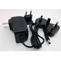 Interchangeable ac plug 12V 2A 1A 5V 2A 12v 5a power adapter with USA/Australia/Europe/UK plug dubai for LED .SET TOP
