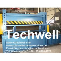 China Steel Embossing Machine for Decorative Stucco or Wood Grain Embossing Door Sheet on sale