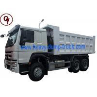 371HP Load Capacity Lorry Dump Truck Sinotruk HOWO 6x4 10 Wheeler Type Steel Material