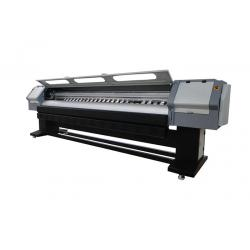 China Roll To Roll Solvent Large Format Printer , 8 Heads Flex Banner PrintingMachine on sale