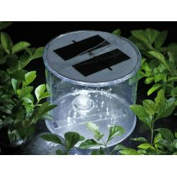 China Portble Inflatable LED Solar Light for outing  camping hiking garden mountaineering without power supply on sale