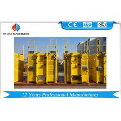 China 3.0 * 1.5 * 2.3 m Frequency Galvanized Construction Hoist Elevator SC200/200G on sale