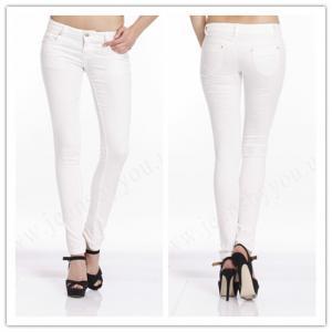 Salcar Candy004 Women Super Stretch White Fashion Pencil Pants ...