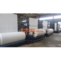 Virgin materia pp Woven Tubular Fabric In Roll For making rice,fertilizer, sand,cement,food,feed,chemical,Building mater