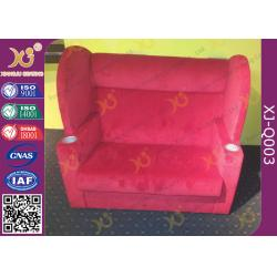 China Fabric Cover Couple Cinema Chairs,  VIP Lover Cinema Seating  For Concert on sale