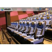 Arc Screen 4D Cinema Equipment Simulator Motion Chairs Customized Color SGS