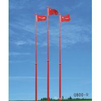 Motorised Automatic Telescopic Aluminium Flag Pole , 50m Remote Control
