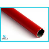 Q235 Steel Pipe PE/ABS Coated Lean Tube OD 28mm For Production Line