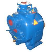 T/P/U series centrifugal self suction pump durable iron large capacity trash water pump