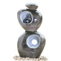 Garden Ball Decoration Fiberglass Rolling Sphere Fountain
