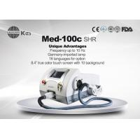 CE Approved Beauty Salon Product SHR Hair Removal , Skin Rejuvenation Machine