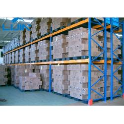 China Double Deep Industrial Storage Racks , Warehouse Storage Steel Pallet Racking on sale