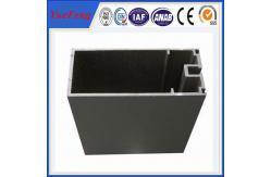 China Precio de aluminio del OEM por el triángulo de aluminio del aluminio del marco de la cortina de la venta de la tubería del triángulo del kilogramo proveedor
