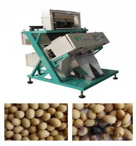 High Speed CCD Colour Sorting Machine 50HZ For Soybean , Bean Color Sorter