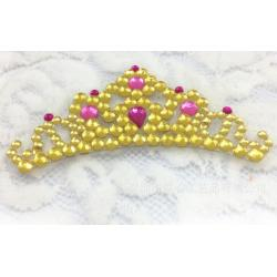 China Self Adhesive rhinestone sticker crown sticker for car /note book /computer on sale
