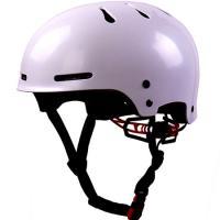 Raw Shell Color Urban Bike Helmet For Skateboarding , ODM Skateboard Safety Gear