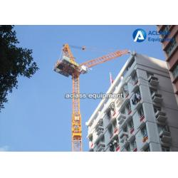 China 60 m Luffing Jib Tower Crane Boom Length 16 Tons For Civil Real Estate on sale